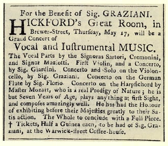 hickford mozart london