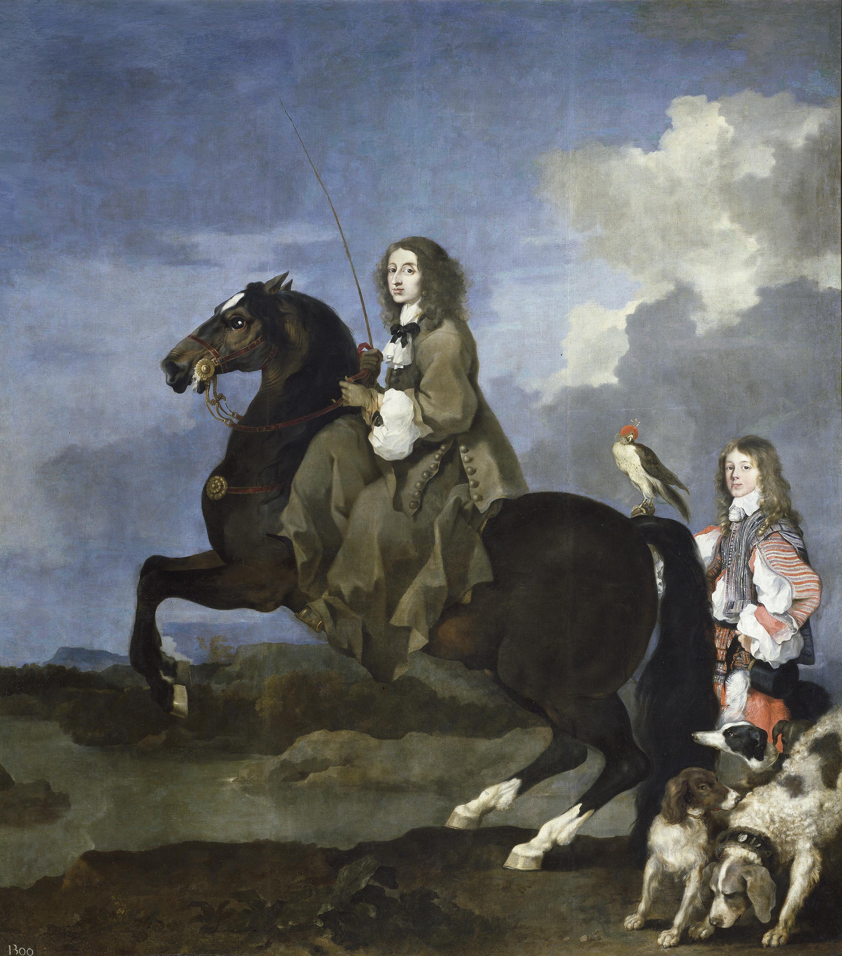 Cristina_de_Suecia_a_caballo_(Bourdon)